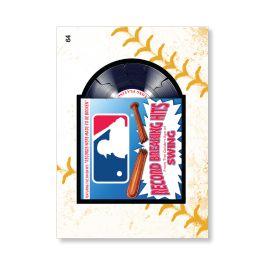 MLB Record Breaking Hits 2016 MLB Wacky MLB EVENT CARDS POSTER Gold Ed. -