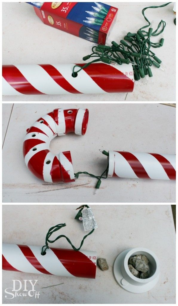 Large Candy Cane Decoration Extraordinary Diy Show Off  Diy Christmas Candy Canes And Lights 2018
