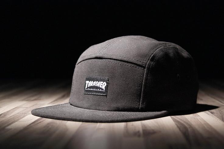 thrasher 5 panel hat