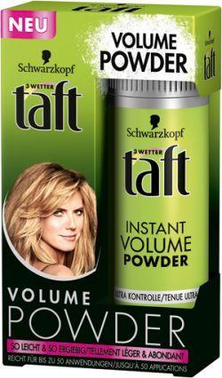 Schauma Taft Instant Volume Powder - Puder za kosu za volumen   Nega kose   La Kozmetika - kozmetički preparati, kreme, šminke ...