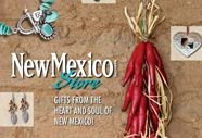 Santa Fe Stores line of souvenirs celebrating the history of New Mexico is perfect for this national publication!