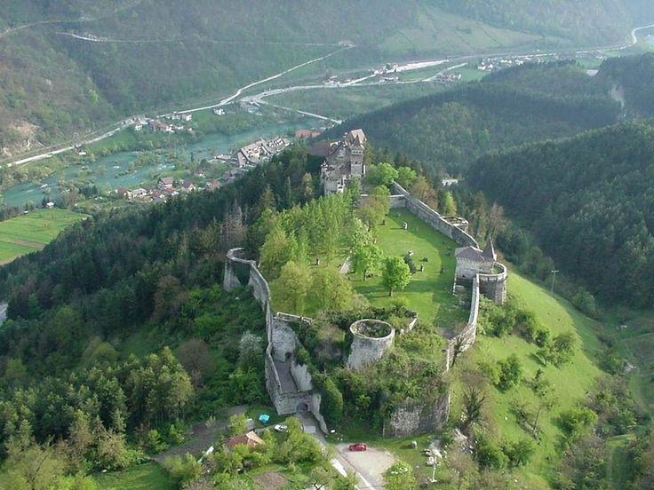 Ostrozac Castle, near Bihac, Bosnia and Herzegovina