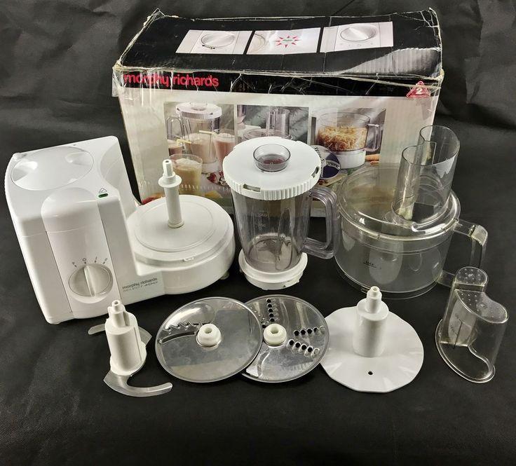morphy richards select 400 model 48540 food processor & blender grates chops ect