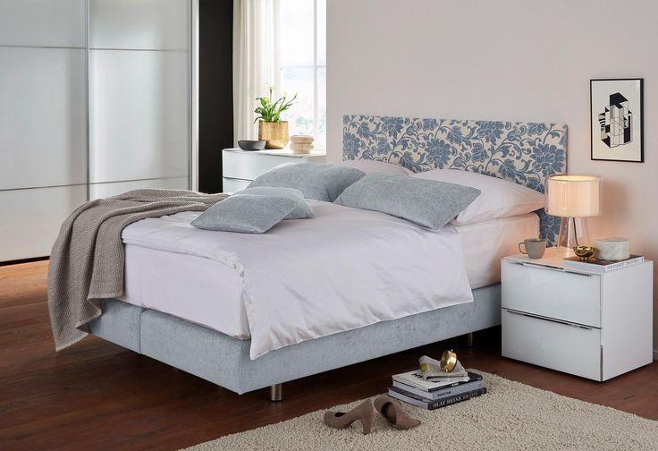 Boxspringbett »Toronto G« blau, Kopfteilhöhe 114 cm, Liegefläche 160/200 cm, inklusive 2 Matratzen, FEMIRA Jetzt bestellen unter: https://moebel.ladendirekt.de/schlafzimmer/betten/boxspringbetten/?uid=2e88ea20-3d18-59e3-a62d-4b6b789d311b&utm_source=pinterest&utm_medium=pin&utm_campaign=boards #betten #boxspringbetten #schlafzimmer #boxspringbett