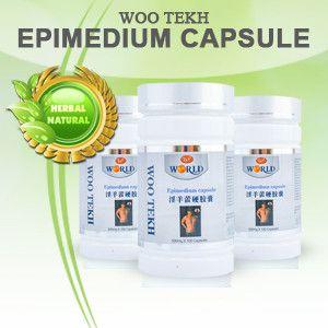 Woo tekh epimedium 100 capsules (Horny Goat Weed)