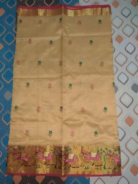 Pure kota sarees with embroidery work | Buy Online Sarees | Elegant Fashion Wear