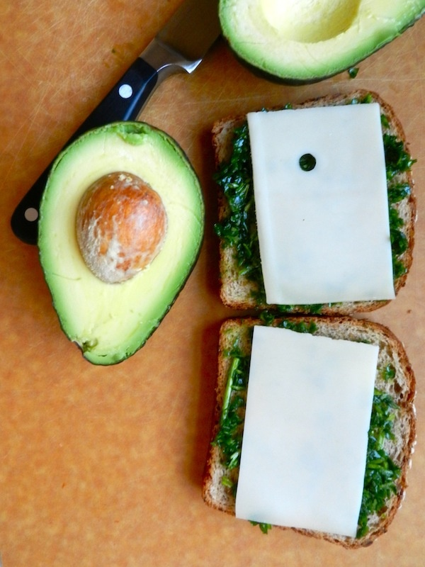 cheese? Try this Avocado & goat cheese grilled cheese to spice up ...