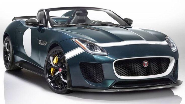 575-horsepower Jaguar F-Type Project 7 revealed