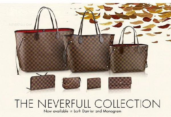 louis vuitton damier neverfull - Google Search