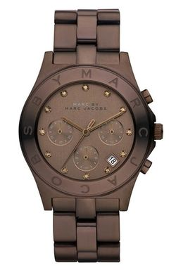 So so beautiful!: Marc Jacobs Watches, Fashion, Chocolates Watches, Color, Wrist Watches, Chocolates Brown, Jewelry, Accessories, Men Watches