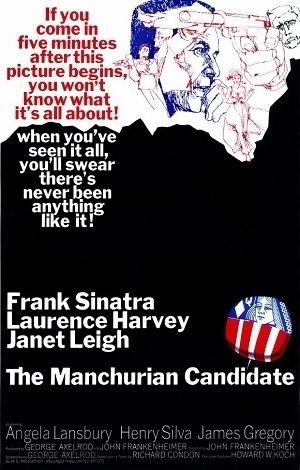 The Manchurian Candidate is a 1962 American Cold War suspense thriller that stars Frank Sinatra, Laurence Harvey and Janet Leigh. The premise of the film is the brainwashing of the son of a prominent right-wing political family as an unwitting assassin in an international communist conspiracy. The Manchurian Candidate was released in the U.S. on October 24, 1962, at the height of the Cuban Missile Crisis. The film was well-received and gained nominations for two Academy Awards.