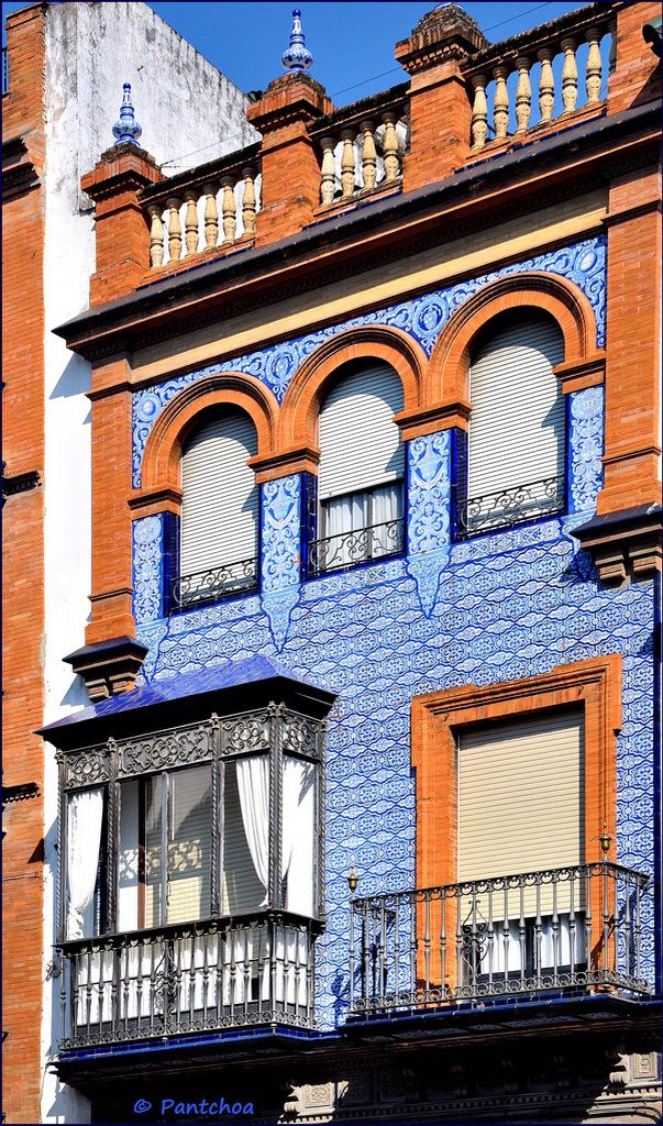 Triana huis met de Azulejos