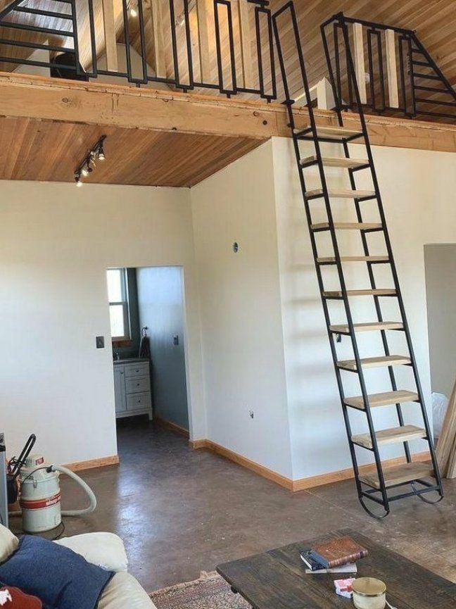 Soppalchi Lofts Arredareinaltezza In 2020 Loft Ladder Loft Railing Cabin Loft