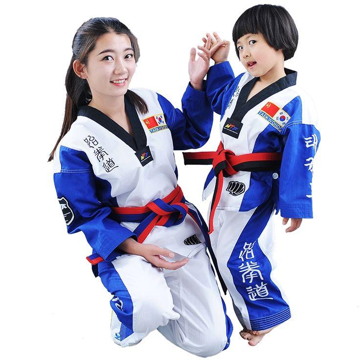 32.75$  Buy here - http://alik6t.shopchina.info/1/go.php?t=32803445818 -  children  taekwondo uniform  taekwondo dobok set taekwondo suit  for kids  #aliexpress