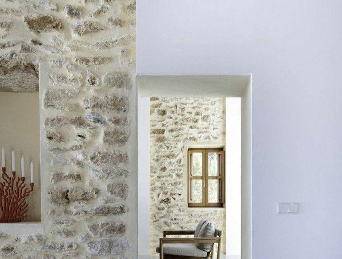 Les 25 meilleures id es de la cat gorie murs en pierre fausse sur pinterest faux murs rocheux - Pierre apparente interieur ...