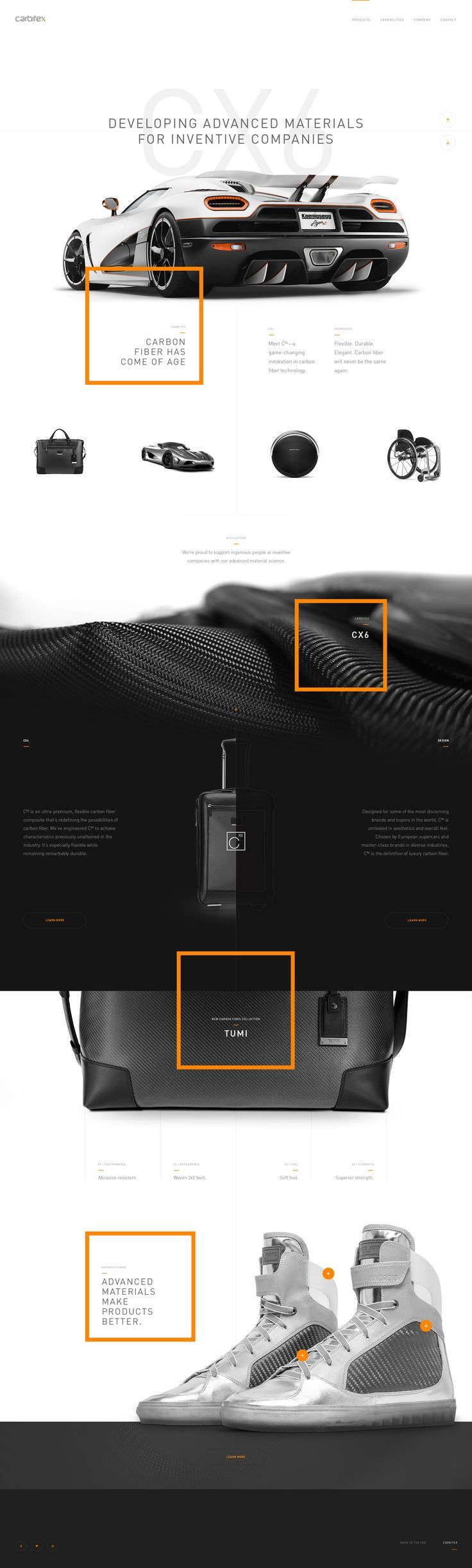Wonderful things can happen when you combine great photography with simple and clean design. #WebDesign #Design