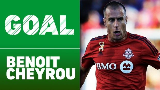 #MLS  GOAL: Benoit Cheyrou scores the go-ahead goal for Toronto in extra time