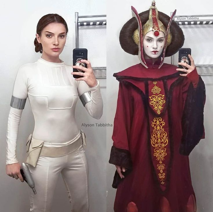 Padme and Queen Amidala from Star Wars by Alyson Tabbitha : cosplaygirls