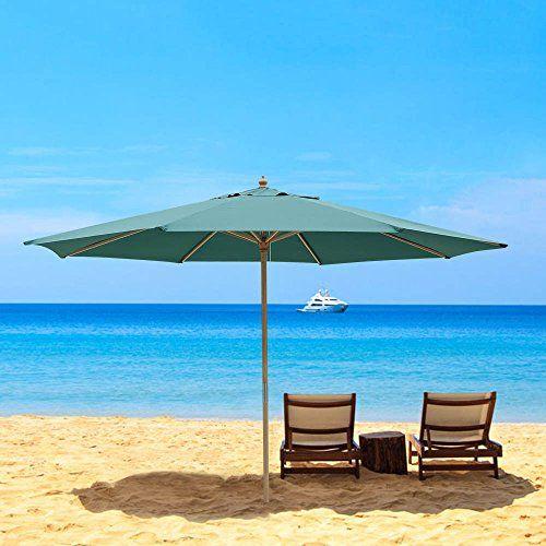 13ft XL Outdoor Patio Umbrella w/ German Beech Wood Pole Beach Yard Garden Wedding Caf?Garden (Green) Yescom http://www.amazon.com/dp/B00KWRLZH8/ref=cm_sw_r_pi_dp_WyWkwb0HXKBGF