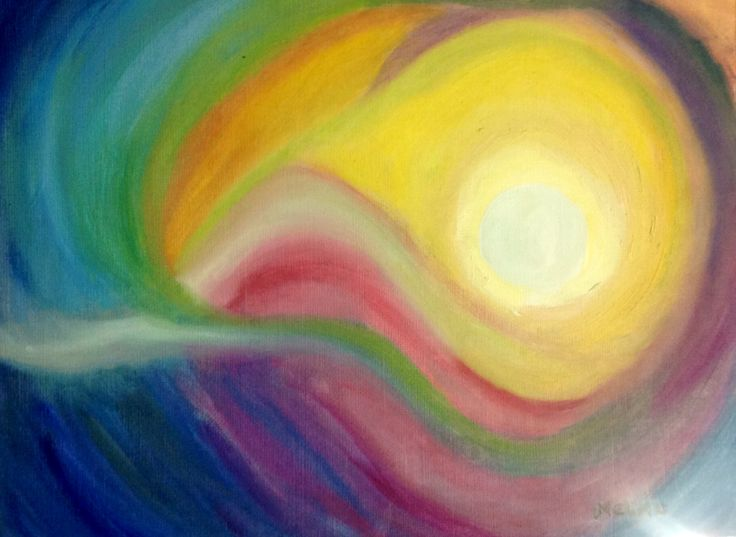 Abstracto en oleo