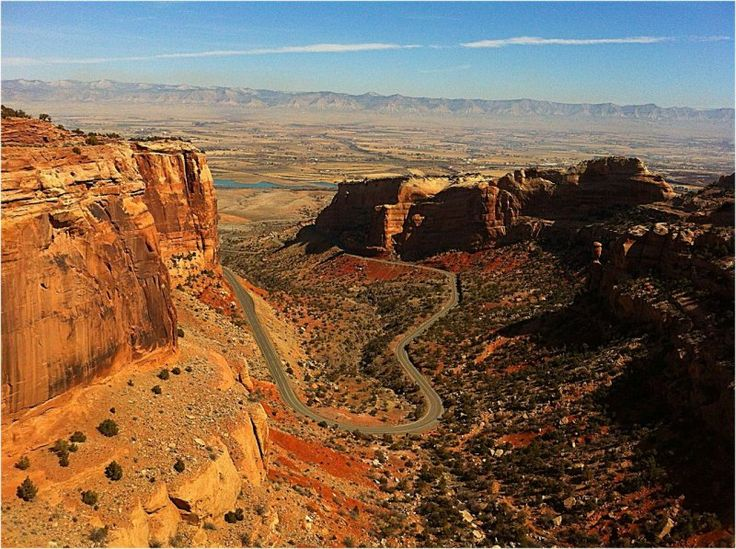 Colorado National Monument | National Park Service near the city of Grand Junction, Colorado.