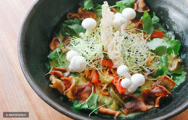 Montréal à tout ce qu'il vous faut pour manger santé avec une variété de restaurants végétariens et végane.