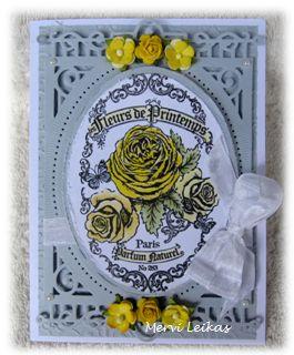 Leikkaan kortit : Keltaiset ruusut