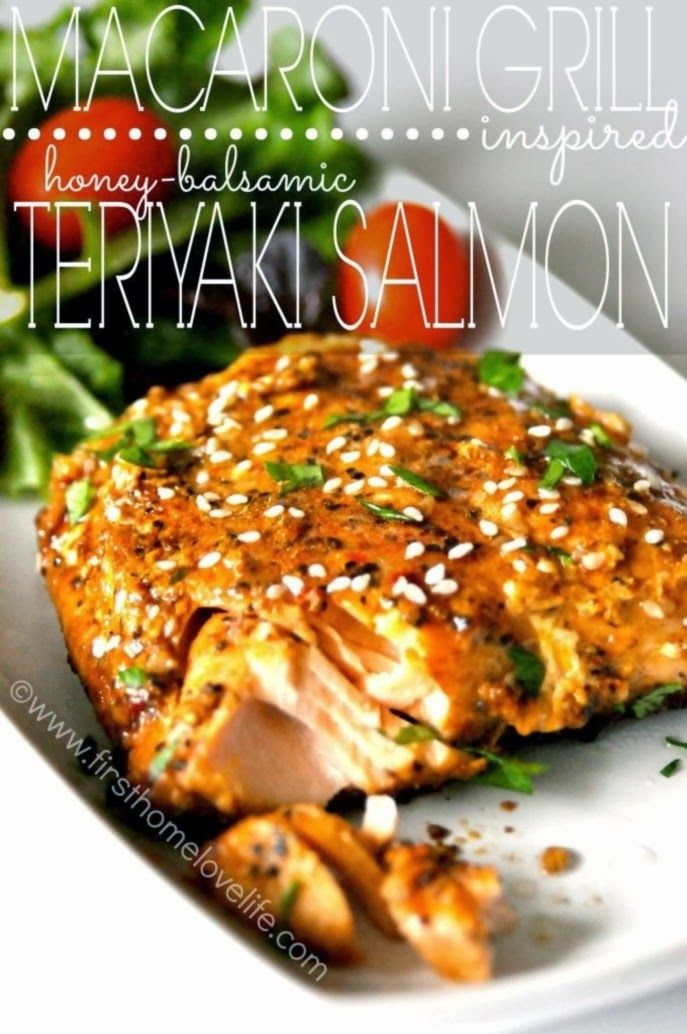 Grill Inspired Teriyaki Salmon #food #yummy #delicious Grilled Salmon ...