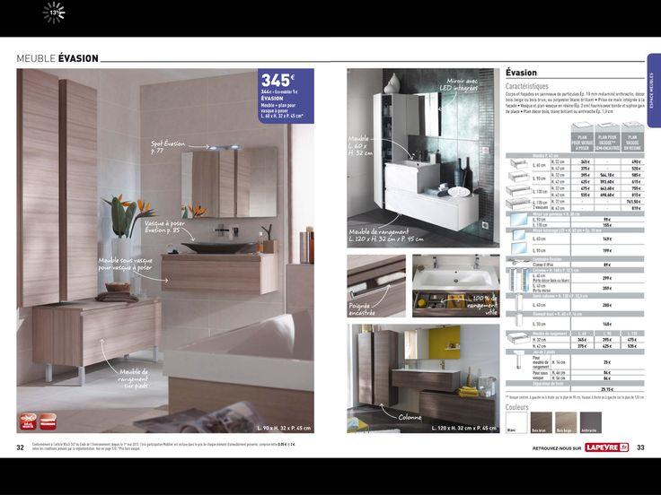 lapeyre ensemble vasion pour la salle d 39 eau meuble. Black Bedroom Furniture Sets. Home Design Ideas