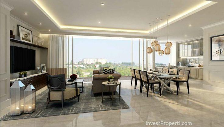 Penthouse Room 1 Apartemen Wang Residence