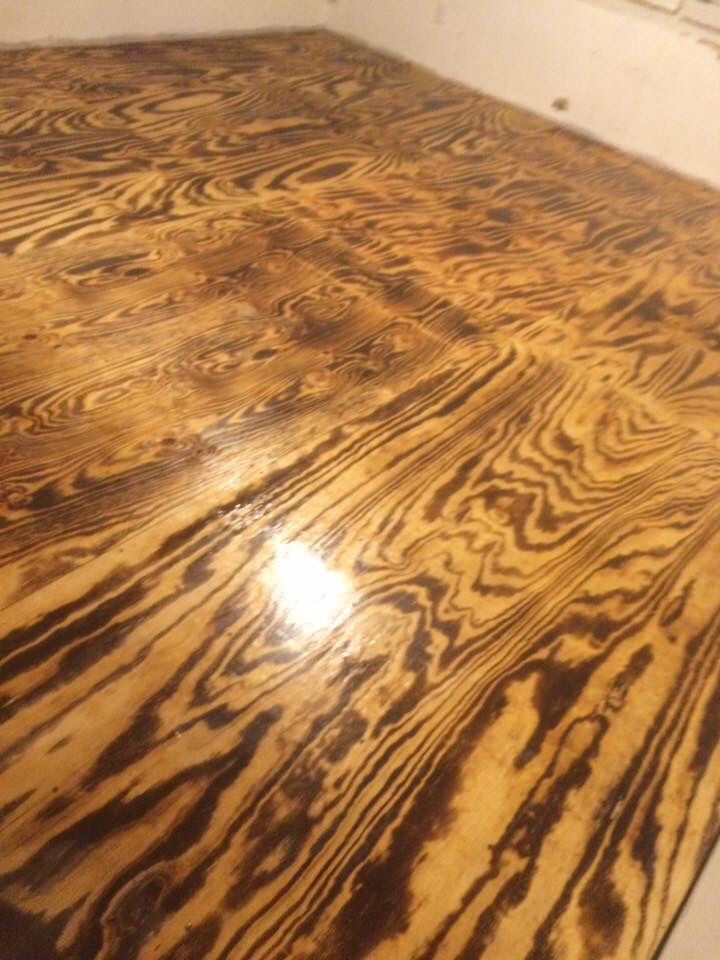 8 best Plywood Flooring images on Pinterest   Plywood ...