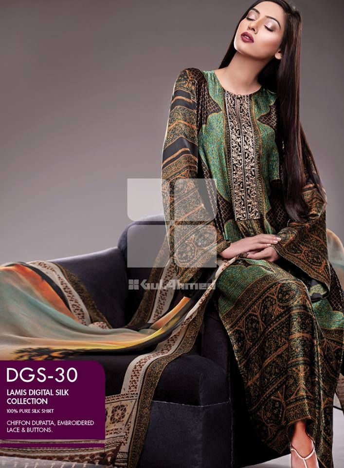 CHIFFON EMBROIDERED SUIT COLLECTION