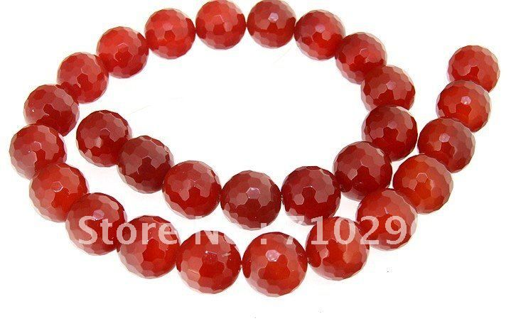 Камень Красный Агат Сердолик 10 мм Круглые Полуприцепы Бусы камень Ювелирные 40 см/String
