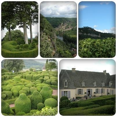 Jardin de Marqueyssac en Dordogne : l'art topiaire tout en rondeurs, des sentiers à fleur de falaise, une vue imprenable, à visiter à tout prix.