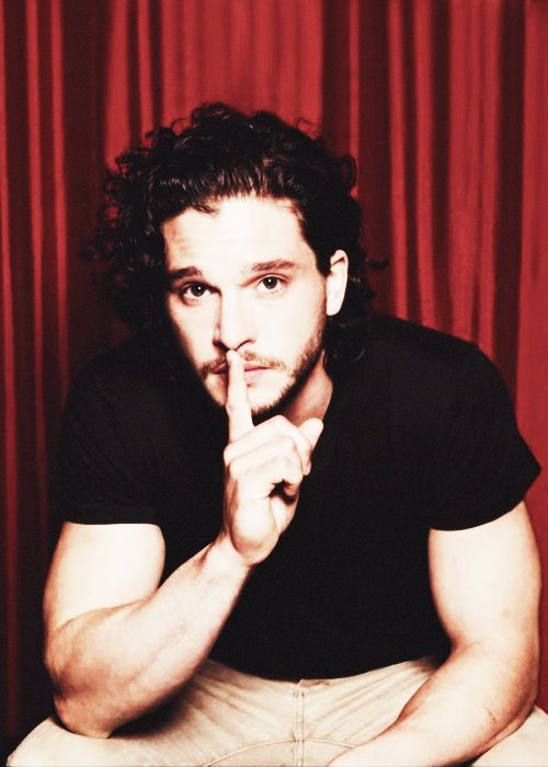 Kit Harrington aka Jon snow in game of thrones