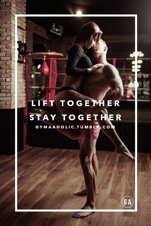 Lift together, stay together !!