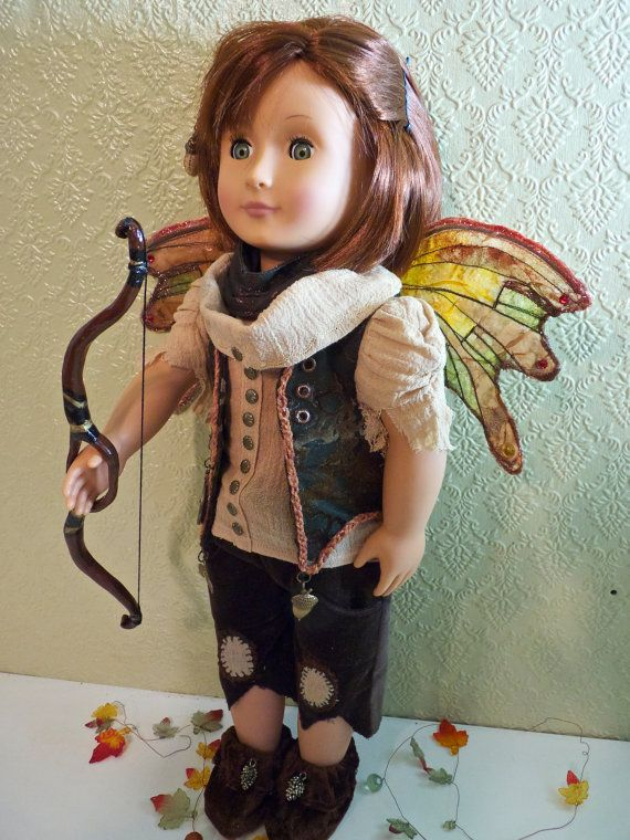 Your 18 inch American Girl doll can become Othenia, Faerie Princess and Guardian of the Forest. Enter into a world of fantasy and adventure....
