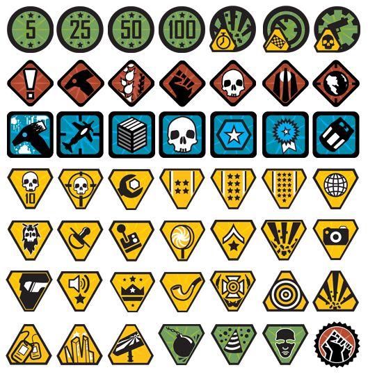 red faction guerrilla achievement icons