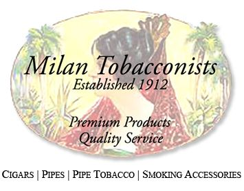 Welcome to Milan Tobacconists Mobile Site ~ Purveyors of Premium Cigars, Smoking Pipes, Custom-Blended & Tinned Pipe Tobacco, and Related Accessories