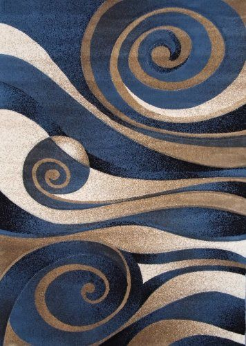 modern area rug sculpture 258 blue feet 2 inch x 7 feet 3 inch to view further for this item visit the image link
