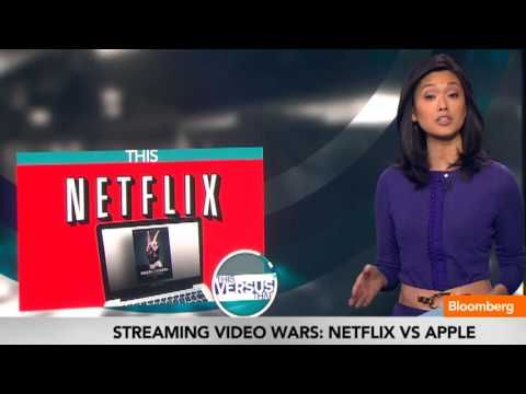 """Feb. 1 (Bloomberg) -- On today's """"This vs. That,"""" Bloomberg's Betty Liu reports on the content battle in online streaming video as Netflix debuts its original program """"House of Cards,"""" while Apple announces an agreement to carry HBO programs on Apple TV. She speaks on Bloomberg Television's """"In The Loop."""""""