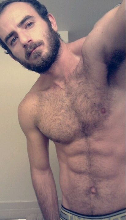Bearded mature gay nude want