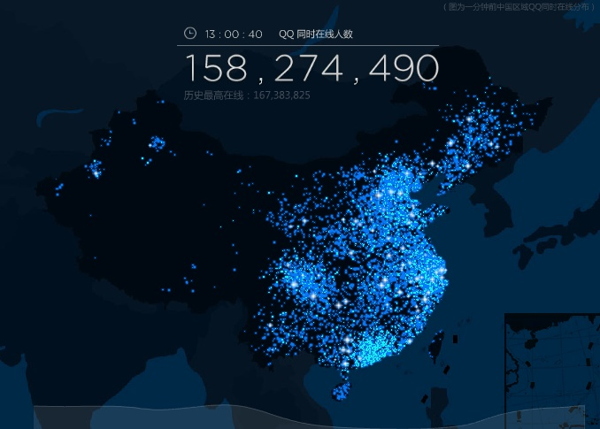 Think Skype is big? Go see how many people are using Tencent's QQ right now