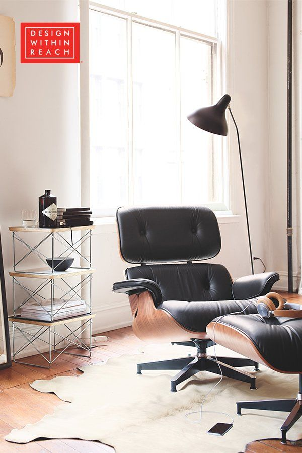 Eames Lounge Chair And Ottoman Design Within Reach In 2020 Eames Lounge Chair Furniture Lounge