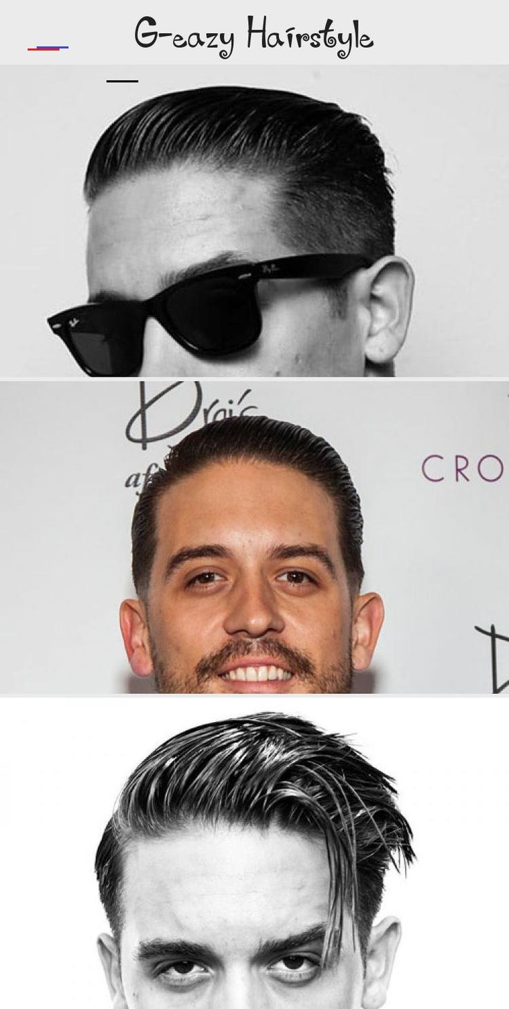 Cool G Eazy Men S Hairstyles Slicked Back Hair Taper Fade Comb Over Side Part And Undercut Hairstylesmencom In 2020 Mens Hairstyles Greaser Hair Classic Haircut