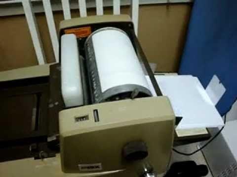 rexograph machine