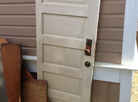 Check out how to make a headboard from an old 5 panel door for How to make a headboard out of a door
