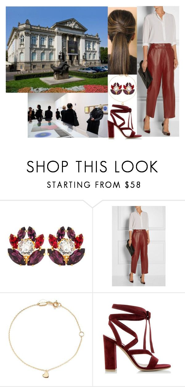 Unveiling a new art exhibition at Zachęta-The National Gallery of Art by matylda-ofpoland on Polyvore featuring ADAM, Gianvito Rossi, Dolce&Gabbana and Estella Bartlett