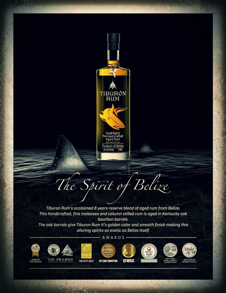 Happy New Years !! Don't forget to pick up a bottle of Tiburon rum for the party!!