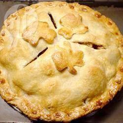 Apple pie irlandais de Maman - Fameuse tarte aux pommes. Je vous jure qu'elle en vaut la peine !